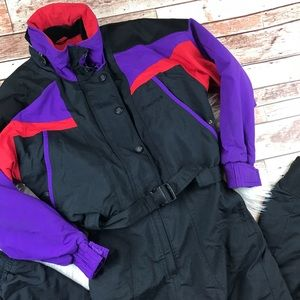 Vintage Jackets & Coats - Vintage 1980's nordica skisuit
